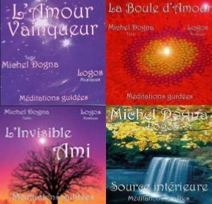 PACK 4 CD DE MEDITATION GUIDEE
