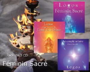PACK 3 CD FEMININ SACRE
